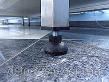 Cтол производственный  из нержавеющей стали с 2-мя полками 1400/600/850 мм, фото 2