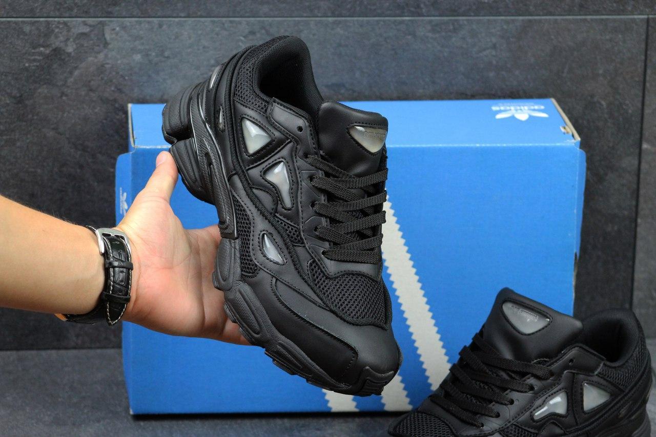 b9231bc23074 Я в шоке!™   Мужские кроссовки Adidas Raf Simons черные 2852. Цена ...