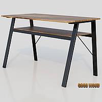 Стол письменный СТП-1, черный или белый, из дерева и металла
