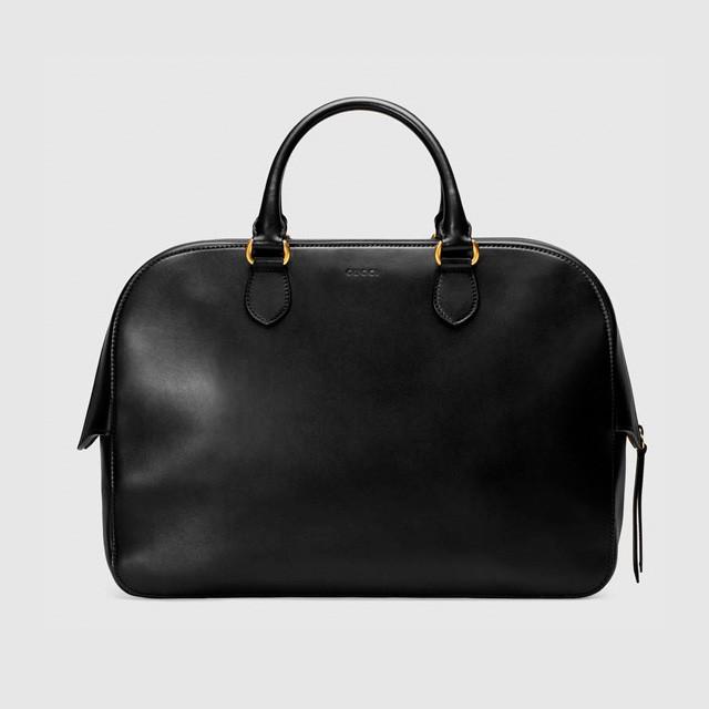 Мужской кожаный портфель Gucci