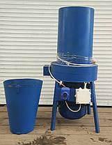 Соломорезка/Сенорезка + Зернодробилка 2в1 (измельчитель сена и зерна , траворезка) 3 кВт с Новым двигателем, фото 3
