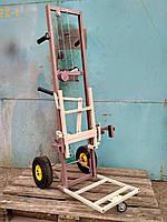 Тележка пасечная апилифт , подъемник ульев с непрокалуемыми колесами  Высота 1400м