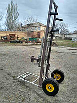 Тележка пасечная апилифт , подъемник ульев с непрокалуемыми колесами  Высота 1400м, фото 3