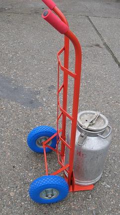 Тележка Кравчучка Усиленная  до 250кг Тележка пасечная для битонов, фото 2