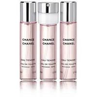 Женская оригинальная туалетная вода Chanel Chance Eau Tendre 3x20ml EDT (сменный блок)