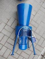 Соломорезка, сенорезка электрический измельчитель сена и соломы 3 кВт, 60 кг/час , фото 2