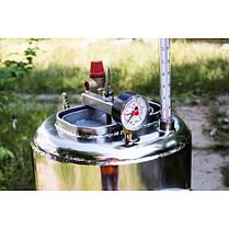Автоклав бытовой ЛЮКС 21 пол.литр., из нержавеющей стали для домашнего консервирования, фото 2