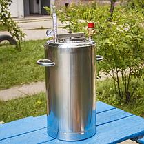 Автоклав бытовой ЛЮКС 21 пол.литр., из нержавеющей стали для домашнего консервирования, фото 3