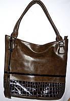 Женская сумка с двумя ручками на один отдел 36*32