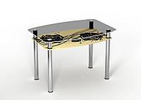 """Стол """"Камелия"""", стекло (ТМ Sentenzo)"""