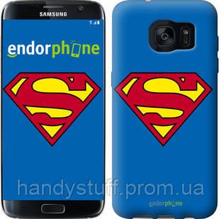 "Чехол на Samsung Galaxy S7 Edge G935F Супермен ""827c-257"""