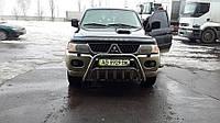 Защита переднего бампера (кенгурятник)  Mitsubishi PajeroSport 1996-2006