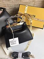 Женская мини-сумочка FENDI PEEKABOO 18 м (реплика), фото 1
