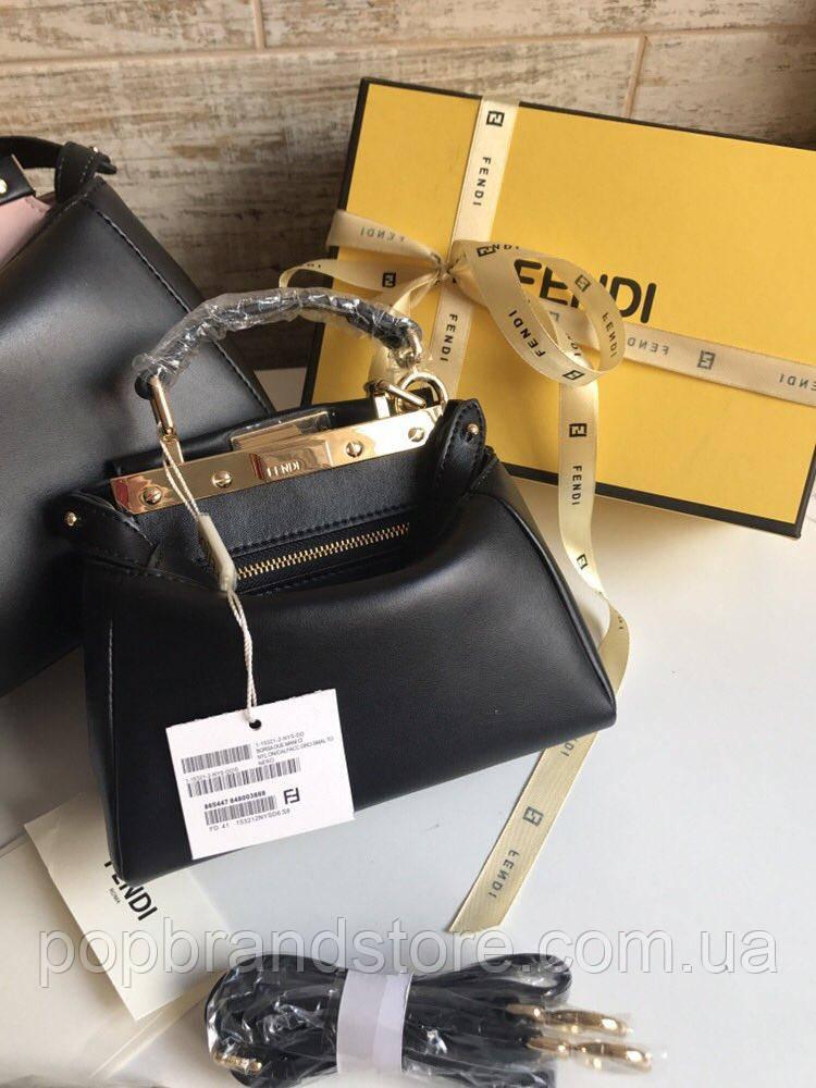 d0d01710cec5 Женская мини-сумочка FENDI PEEKABOO 18 м (реплика) - Pop Brand Store