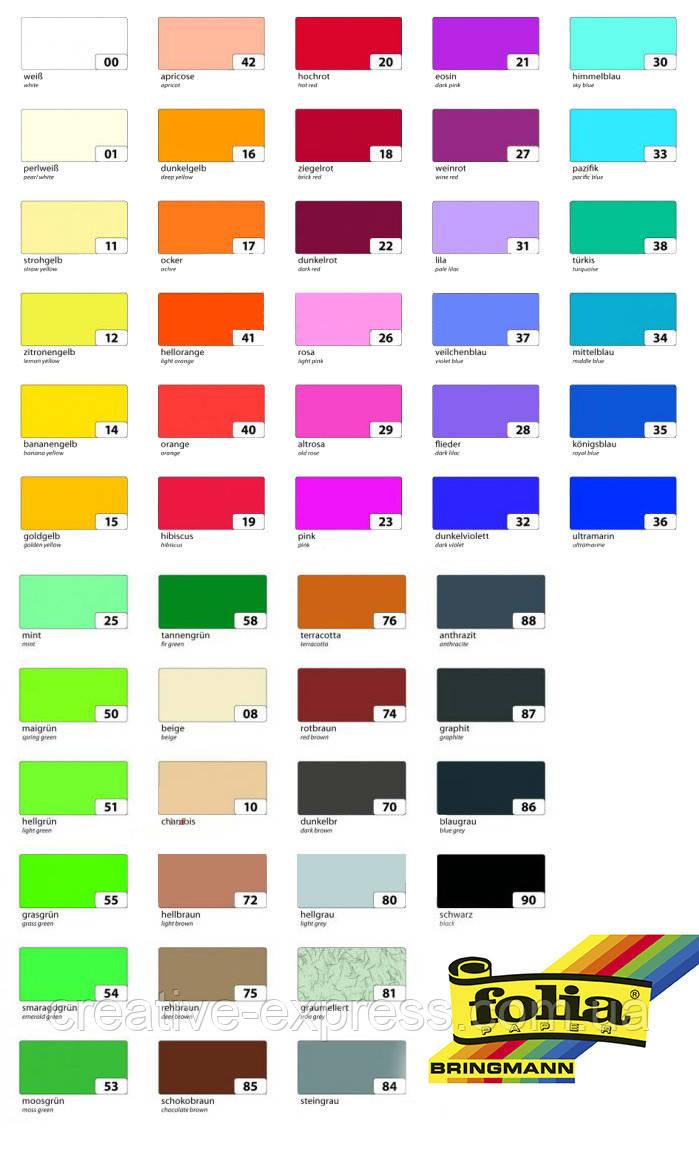 Папір для дизайну, Fotokarton A4 (21*29.7см), №31 Блідо-ліловий, 300г\м2, Folia