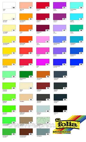 Папір для дизайну, Fotokarton A4 (21*29.7см), №31 Блідо-ліловий, 300г\м2, Folia, фото 2