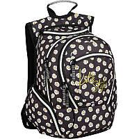 Рюкзак Kite K16-856M-1 856 Style-1 черный два отдела школьный подростковый для девочек 42х36х20см