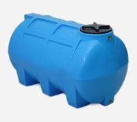 Горизонтальная  емкость 250  литров