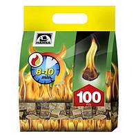 Разжигатели огня Hansa 100 шт