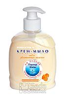 """Крем-мыло """"Мед и увлажняющее молочко"""" витамин., 300мл"""