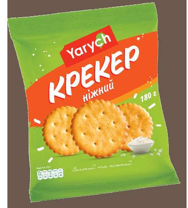 "Крекер ""Yarych""  Ніжний  180 г"