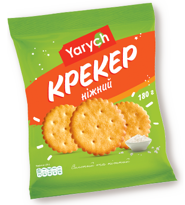 "Крекер ""Yarych""  Ніжний  180 г , фото 2"