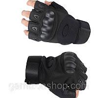 Перчатки  тактические Oakley беспалые, фото 1