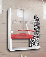 """Зеркальный шкафчик для ванной комнаты м""""858"""""""
