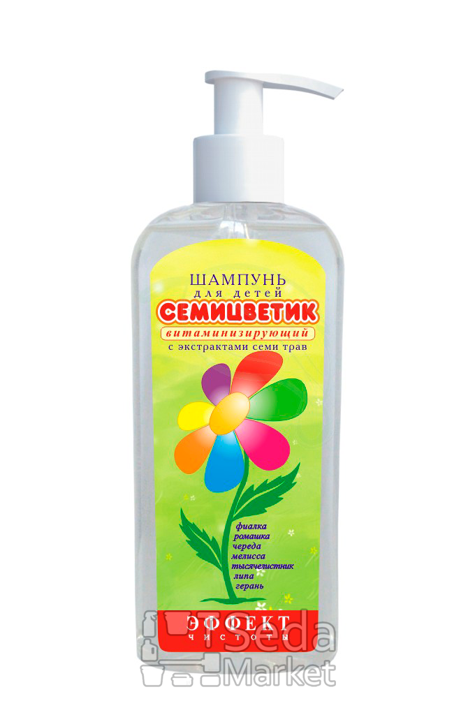 """Шампунь для детей """"Семицветик"""", 200г - seda-market.com.ua в Киеве"""