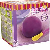 Тесто для лепки натуральное фиолетовое+аксессуары