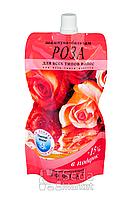 """Шампунь-бальзам """"Роза"""", дой-пак, 270мл"""