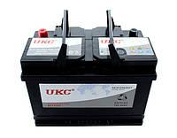 Аккумулятор автомобильный 12v 80A UKC DD