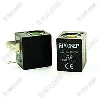 Катушка пневмораспределителя Aignep SOL10024C4000 24VDC 6.5W