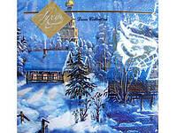 Салфетка (ЗЗхЗЗ, 20шт) LuxyНГ Накануне рождества  (004) (1 пач)