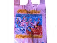 Пакет майка полиэтиленовая 34*58 HГ Тройка  ''Комсерв'' (100 шт)