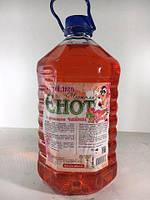 """Жидкость для мытья посуды   5 литра """"Чистюля енот"""" Чайная роза (1 шт)"""