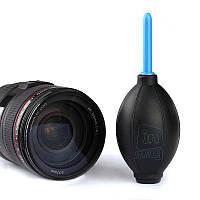 Воздушная продувочная груша для чистки от пыли фотоаппарта, объектива, матрицы.