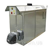 Теплогенератор для сушки головок чеснока гарячим воздухом. Теплегенератор для сушки часнику гарячим повітрям.