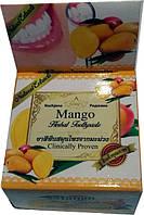 Отбеливающая зубная паста с экстрактом Манго Mango Herbal Toothpaste