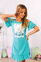Летнее легкое платье 198
