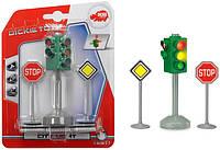 Набор Dickie Toys Светофор и дорожные знаки со световым эффектом (3341000)