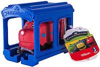 Паровозик Вилсон с гаражом Chuggington (JW10566/38620/10585)
