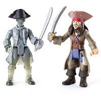 Фигурки Disney Пираты Карибского моря Джек и призрак экипажа (SM73101-3)