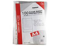 Канцелярские файлы для документов тм. А5 (100 шт)