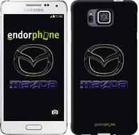 "Чехол на Samsung Galaxy Alpha G850F Mazda. Logo v2 ""3122c-65"""