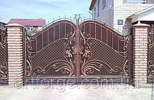 Кованые ворота КВ-401
