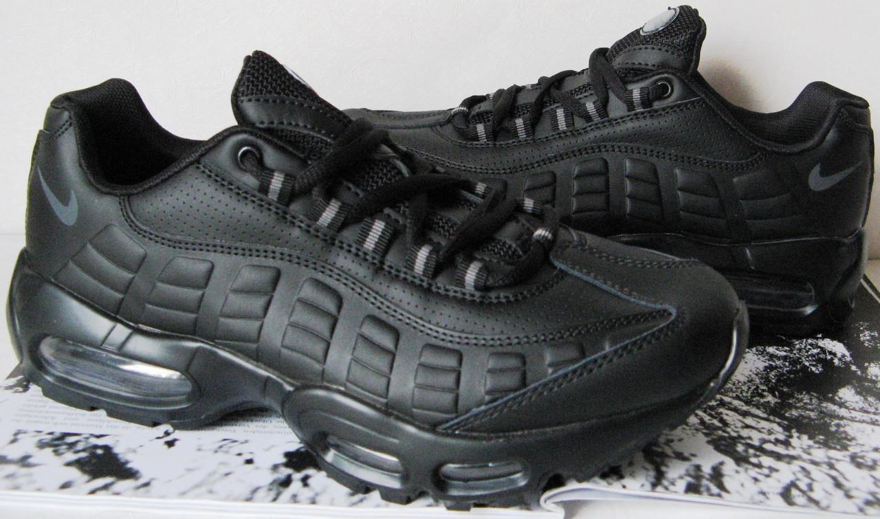 adb73bfd406b Легендарные ! Nike Air max 95! кроссовки аир макс мужские черные кросовки  унисекс