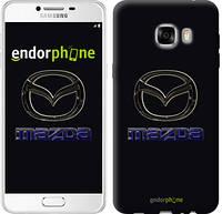 "Чехол на Samsung Galaxy C7 C7000 Mazda. Logo v2 ""3122u-302"""