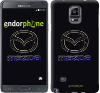 "Чехол на Samsung Galaxy Note 4 N910H Mazda. Logo v2 ""3122c-64"""