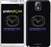 "Чехол на Samsung Galaxy Note 3 N9000 Mazda. Logo v2 ""3122c-29"""